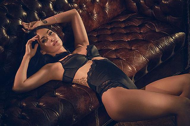Меган Фокс снялась в откровенной рекламе нижнего белья
