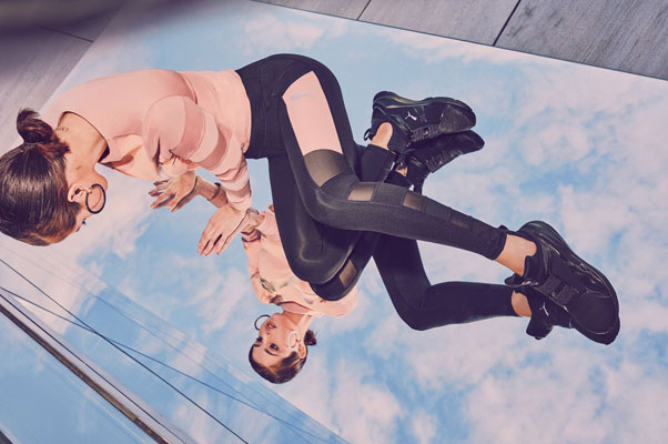 Селена Гомес продемонстрировала стройную фигуру в новой рекламной кампании Puma